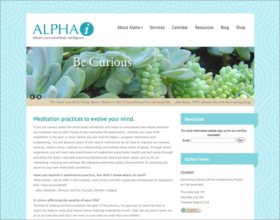 Alpha-i Website