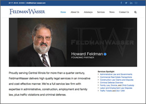 FeldmanWasser Law Firm Website