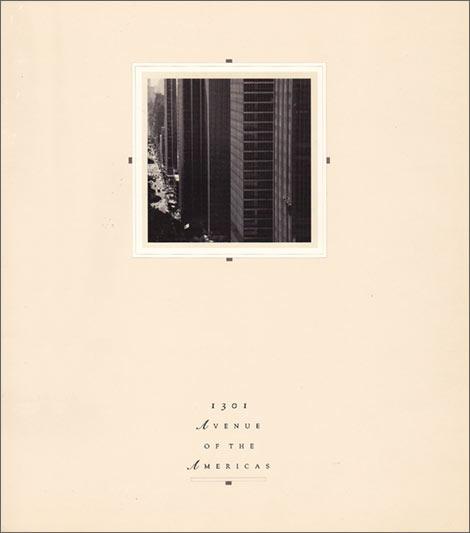 Tishman Speyer Properties NY Brochure
