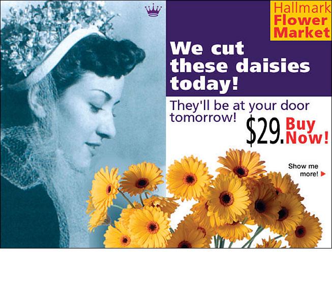 Hallmark Flower Market Online Ad