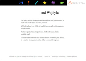 &Wojdyla Advertising Website
