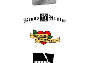 Logos for BrunoHunter.com