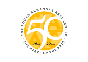 South Arkansas Arts Center 50th Anniversary Logo
