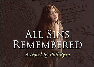 """All Sins Remembered"" book design"