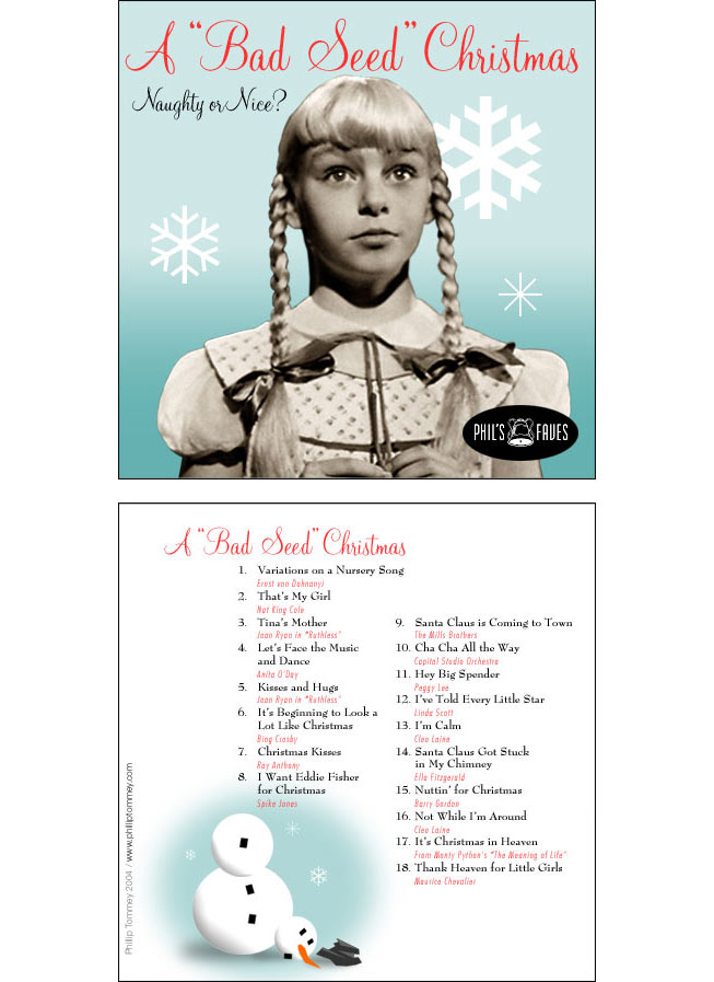 Phil's Faves CD Design