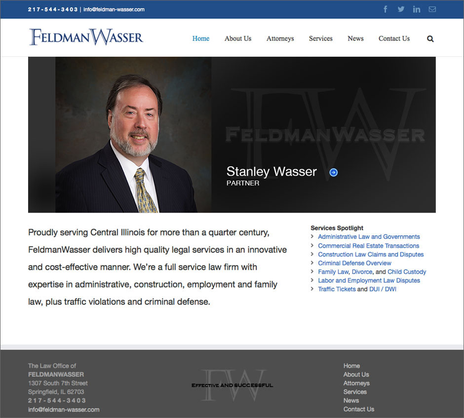 Feldman Wasser Law Firm Home