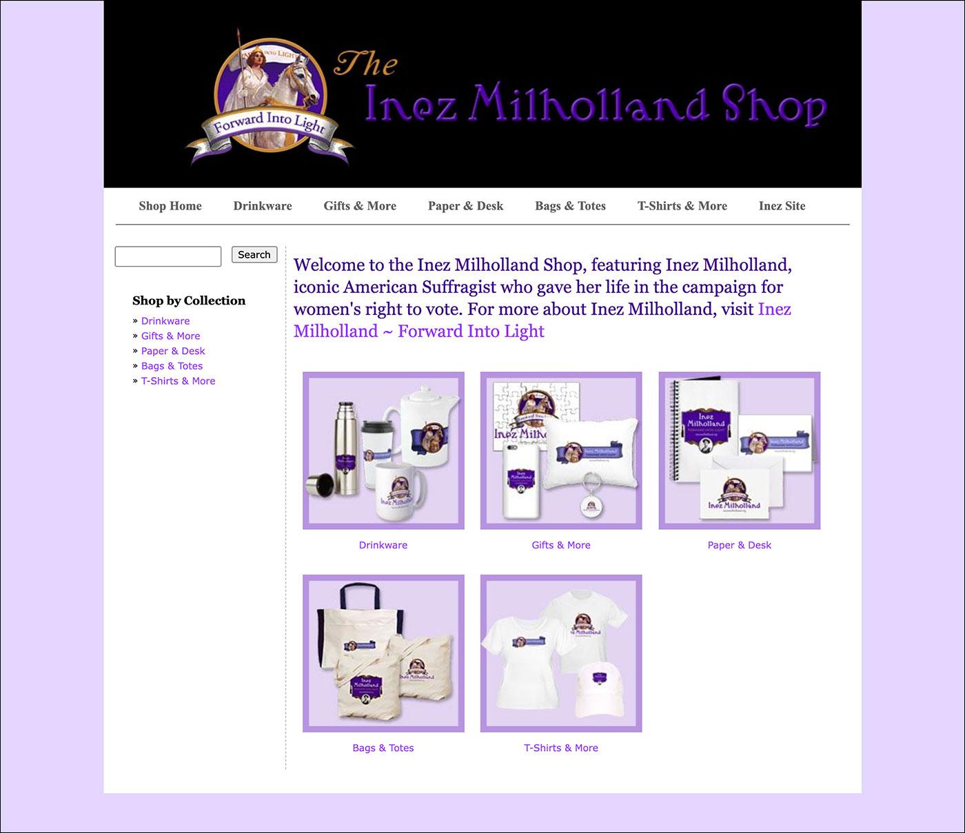 Inez Milholland Shop